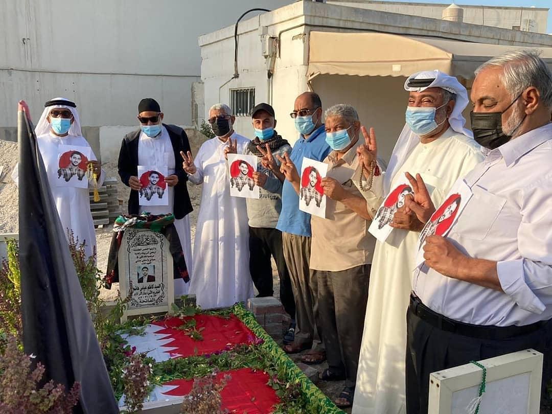 زيارة روضة الشهيد «السيد كاظم عباس» في ذكراه السنويّة الأولى