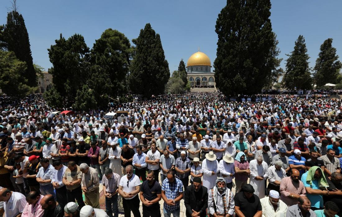 تأكيدًا لرمزية المسجد الأقصى انطلاق حملة دعم له تزامنًا مع ذكرى الإسراء والمعراج