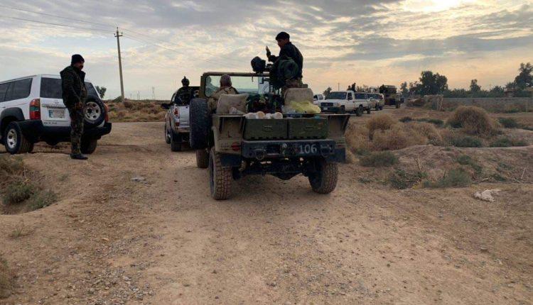 الحشد الشعبي يدمّر أنفاق ومضافات لداعش في الأنبار وصلاح الدين
