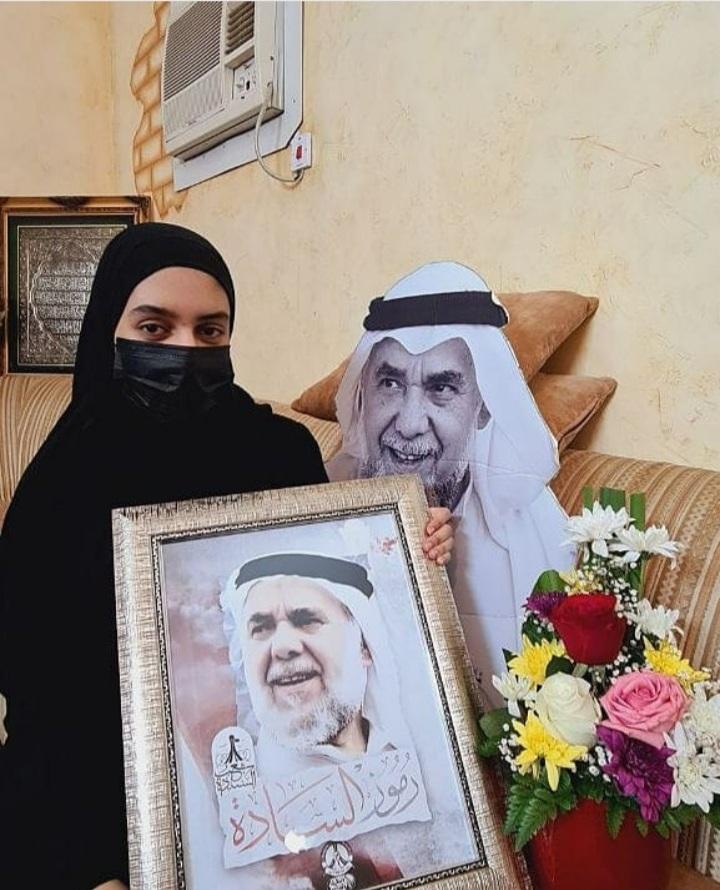 اجتماعية ائتلاف 14 فبراير تزور أسرة الرمز المعتقل «الأستاذ حسن مشيمع»