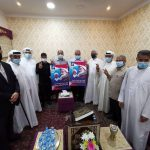 آباء الشهداء وناشطون يزورون أسر الرموز المعتقلين