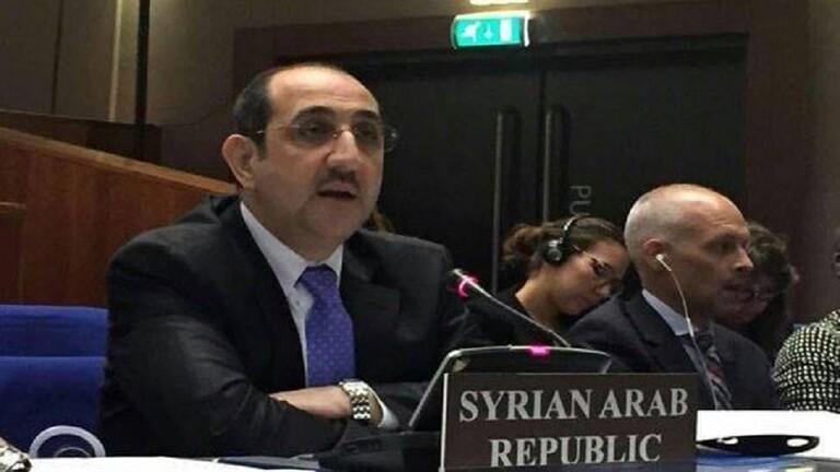 مندوب سوريا: بعض الدول الغربيّة تمارس الضغوط على منظّمة حظر الأسلحة الكيميائيّة لعرقلتها