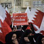 نسويّة ائتلاف 14 فبراير توجّه التحيّة لحرائر البحرين على حراكهنّ