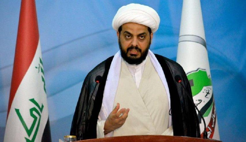 الشيخ الخزعلي: لغة الحوار والمنطق لا تنفع مع أمريكا