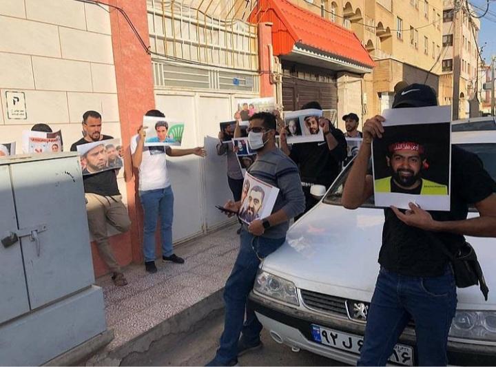 البحرانيّون في الخارج ينظّمون اعتصامات تضامنًا مع المعتقلين السياسيّين في البحرين
