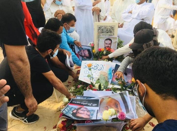 حشودٌ جماهيريّة غفيرة تشارك في كسار فاتحة الشهيد «عباس مال الله»
