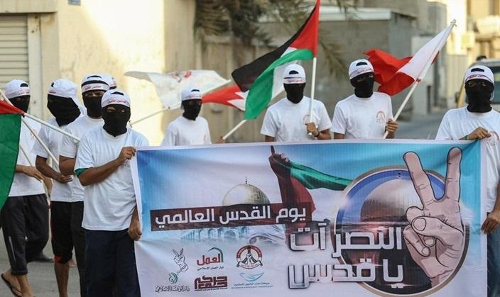 فلسطين حاضرة في الحراك التضامنيّ مع المعتقلين السياسيّين في البحرين