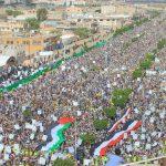 اليمنيّون يحيون يوم القدس العالمي ردًّا على التطبيع العربي
