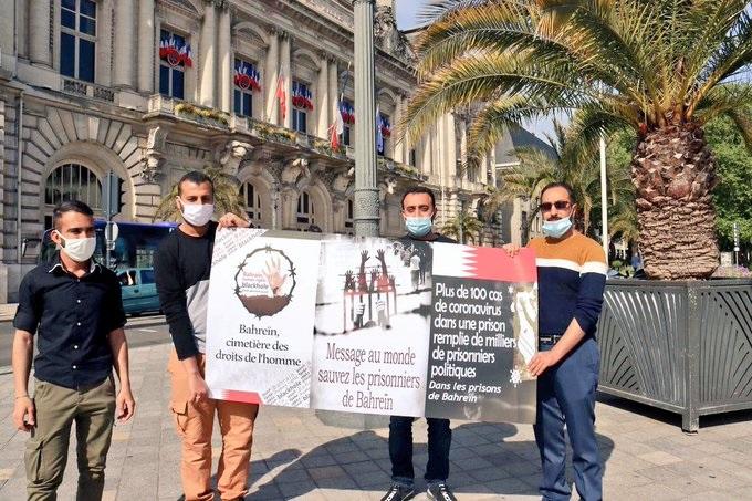 حراك تضامني مع الأسرى داخل البحرين وخارجها