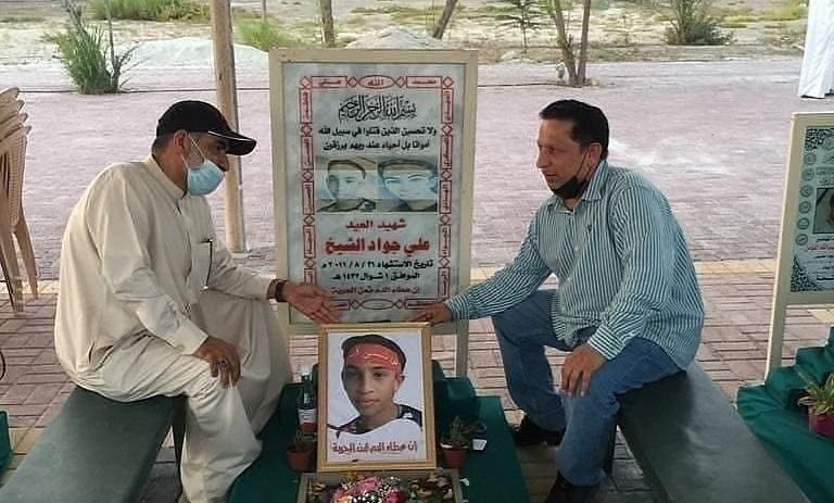 زيارة رياض الشهداء في عيد الفطر ومواصلة التضامن الشعبيّ مع المعتقلين