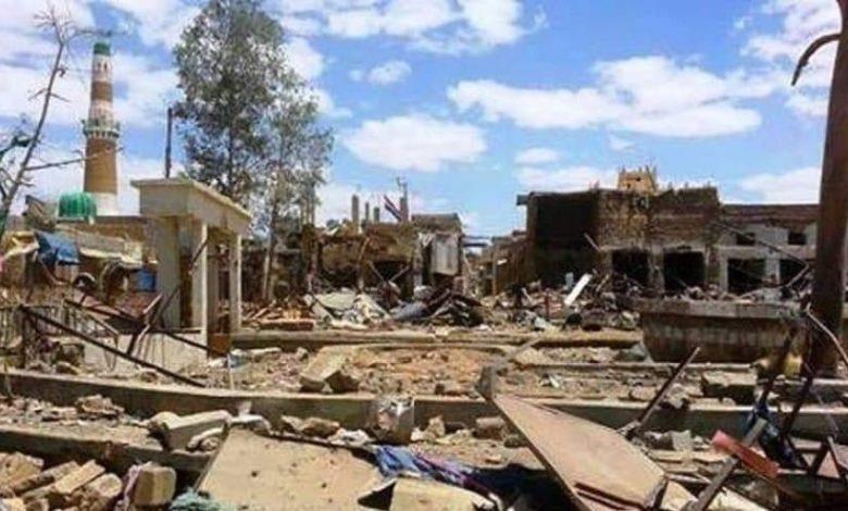 النظامالسعوديّيدمّر مئات المساجد في اليمن خلال العدوان