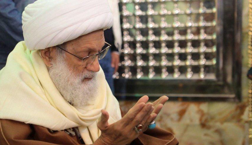 الفقيه القائد قاسم وعلماء البحرين يعزّون بالشهيد «بركات»