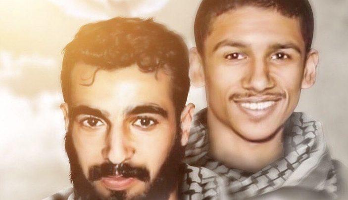 شعب البحرين يحيي الذكرى الثانية لاستشهاد «علي العرب وأحمد الملالي»