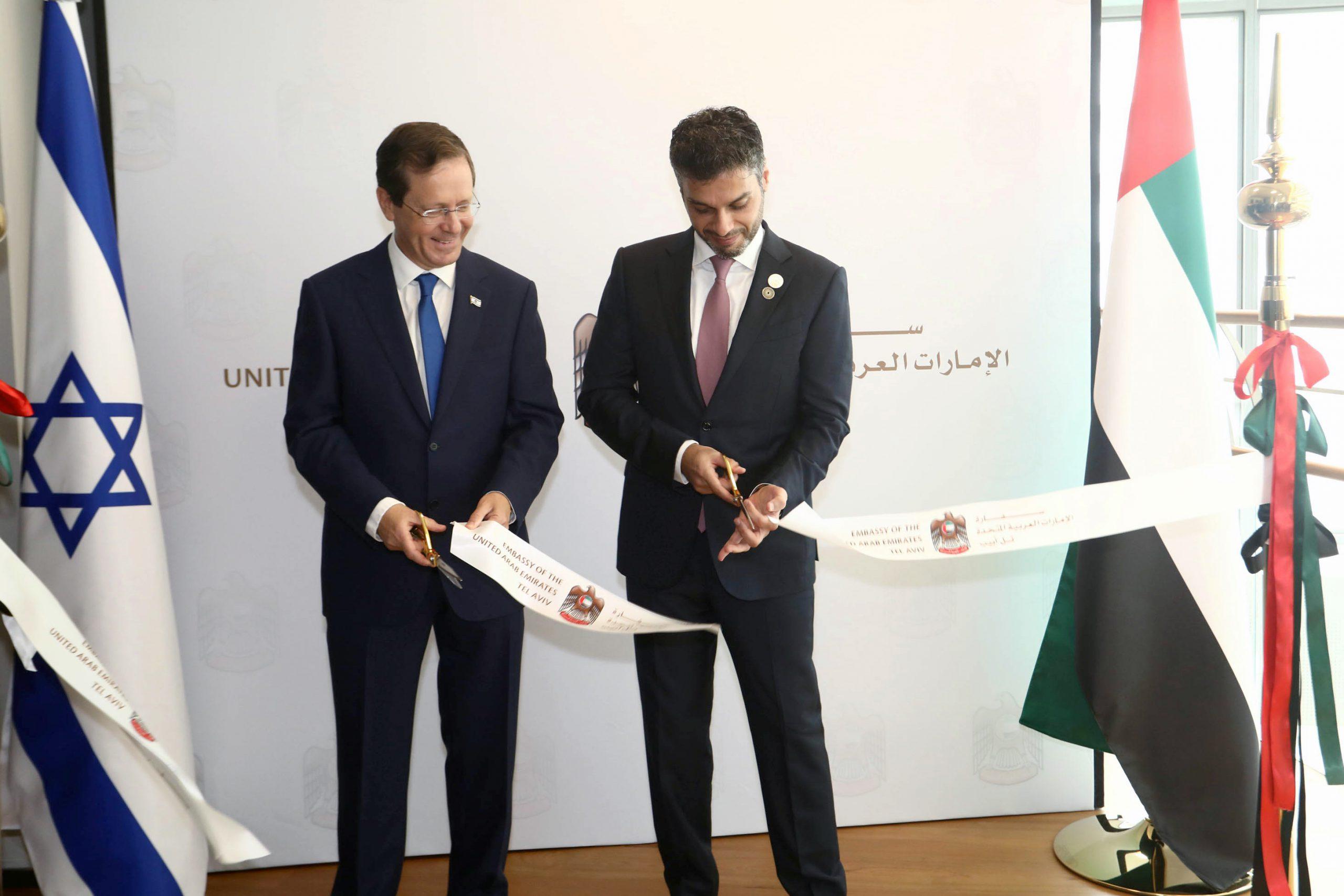 الإمارات تدشّن سفارتها في تل أبيب رسميًّا وسط تنديد فلسطينيّ وعربيّ