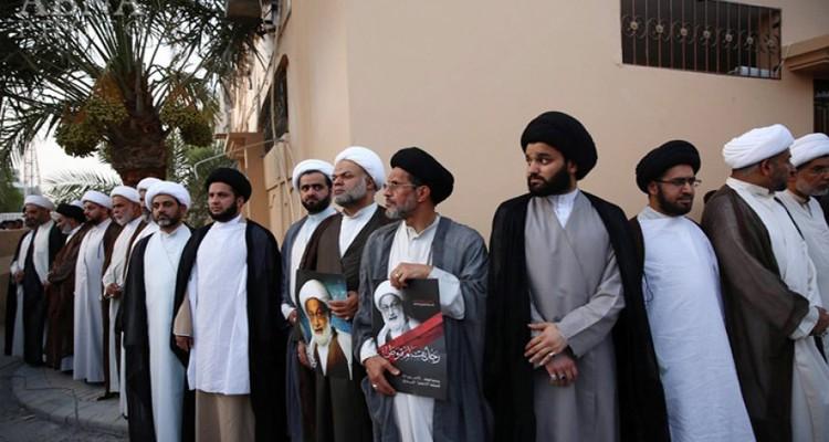 علماء البحرين يستنكرون اعتداءات النظام على الشعائر الحسينيّة