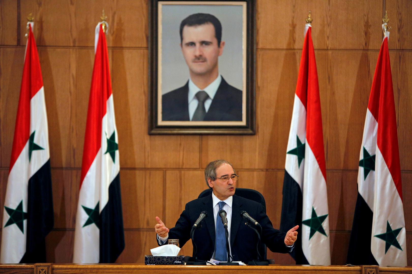 المقداد: إنجازات سوريا في الحرب هي السبب في تغيير الأجواء السياسيّة تجاهها