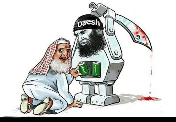 الشحن السعودي التكفيري