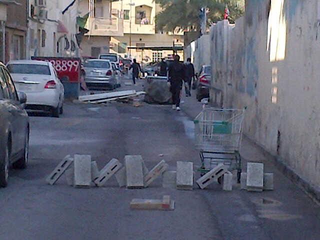 سيطرة ثوريّة واسعة على شوارع «العاصمة المنامة»