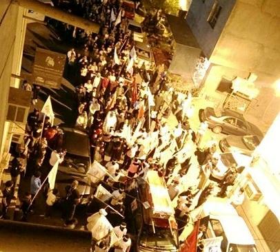 «حشود جماهيرية» تُشارك في مراسم زفاف الشهيد القائد «أبو هادي»