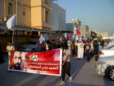 جماهير العزّة تكسر الحِصار وتشارك في فاتحة  «القائد أبو هادي»