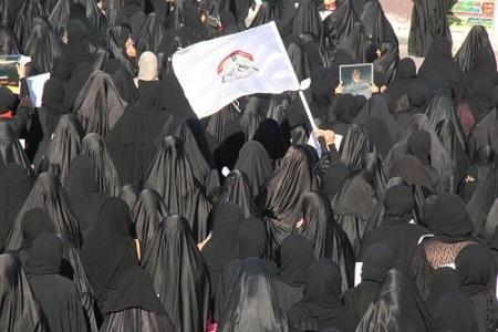 حِراكٌ تضامنيّ في  «البحرين» مع الحرائر الأسیرات
