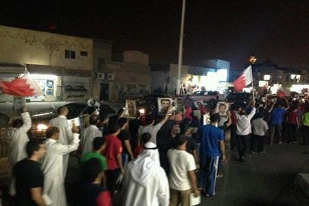 «بلدة عالي» تشهد حراکاً ثوریاً مميزًا تضامنًا مع «قادة العزة»