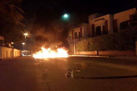 شارع «القاعدة الأمريكية» في قبضةِ ثوّار البحرين