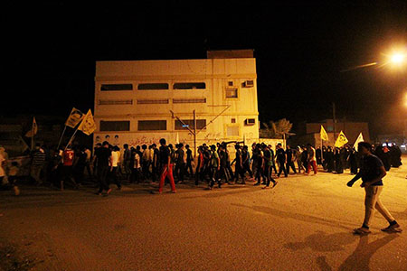 مسيرات غاضبة في «البحرين» تنديداً باحتجاز جثمان «الشهيد العبّار»