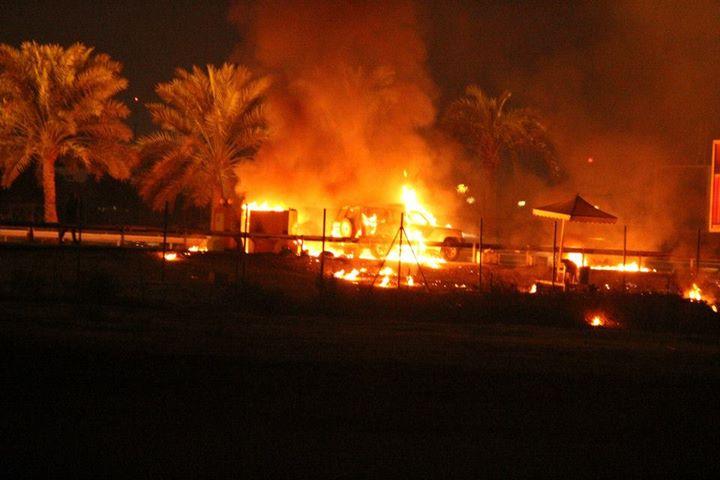 «فرسان الإباء» يحكمون السيطرة على شارع 14 فبراير المؤدي للعاصمة «المنامة»