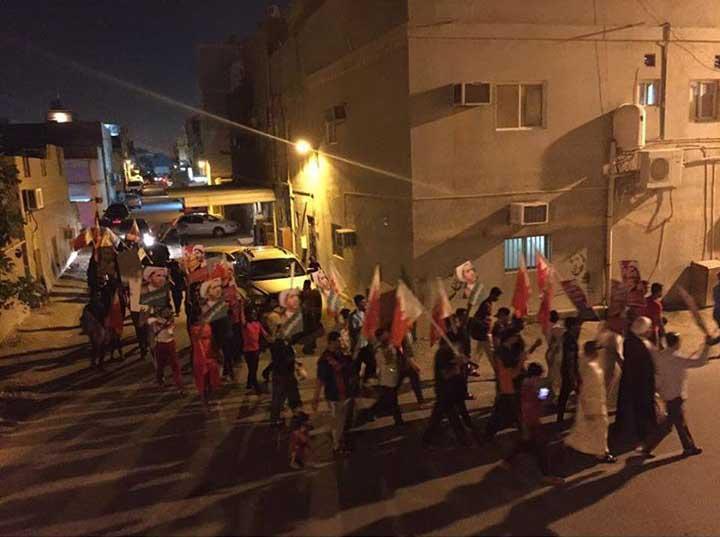 أبوصيبع و الشاخورة تتظاهران تحت شعار «نقدر نرجع»