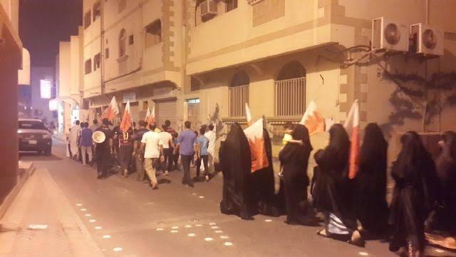 البحرين تتضامن مع «جزيرة سترة» و الجماهير تردد: رفعي الرآس يا سترة الأبية