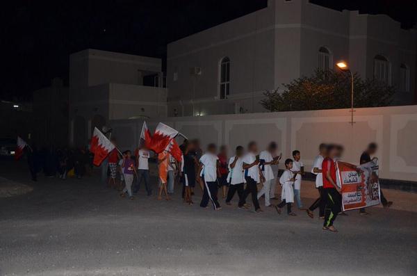 مسيرة «دمي فداء وطني» في صدد تمهيدا للوجهة الجماهيرية نحو «ميدان الشهداء»