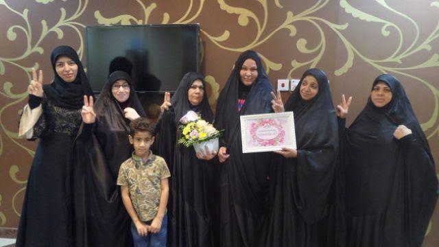 الهيئة النسويّة في «الائتلاف» تزور أسرة المعتقلة «صدّيقة البصري»
