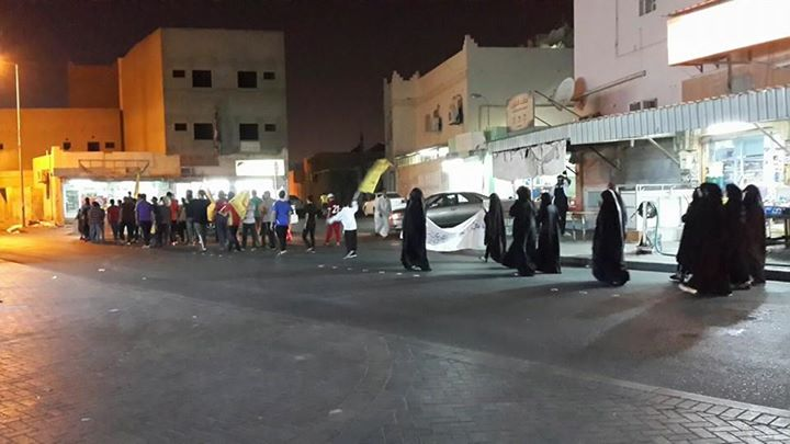 شعبٌ لا يُهزم..تظاهرة غاضبة في «بلدة كرزكان»