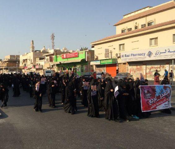نسويّة «ائتلاف 14 فبراير» تحيّي «المرأة البحرانيّة» وتشيد بدورها العظيم في الحراك