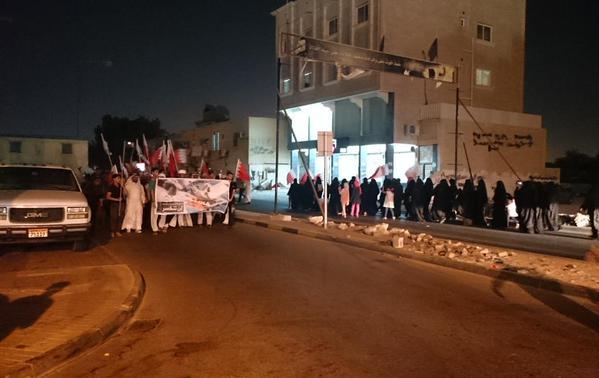 الجماهير البحرانيّة تحتشد في بلدة بوري وتُؤكد: «مستمرون في الثورة»