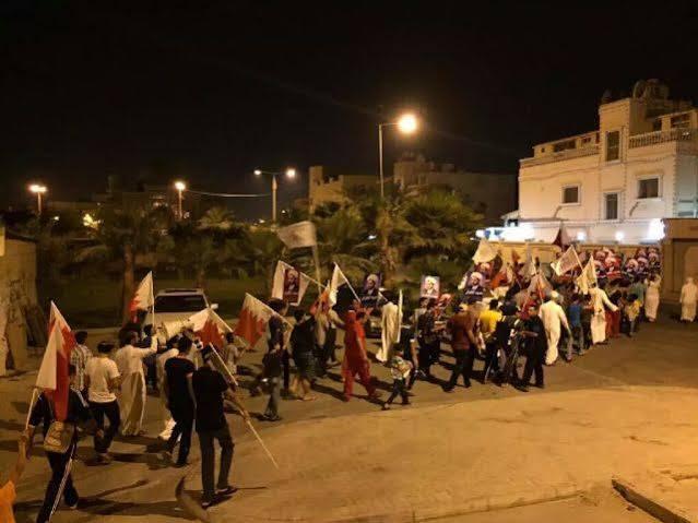 تظاهرات جمعة «مستمرّون» تعمّ البحرين