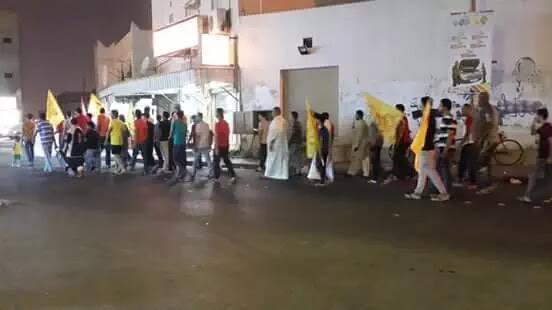 «مستمرون في الثورة»..التظاهرات تتواصل في البحرين