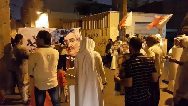 الشعب البحرانيّ يتضامن مع المناضل «إبراهيم شريف»