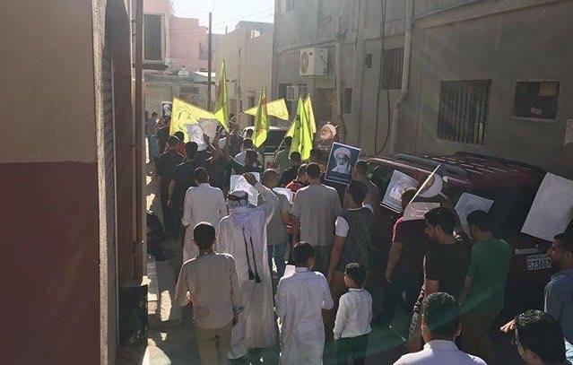 «البحرين» تشهد تظاهرات غاضبة صبيحة عيد الفطر المبارك