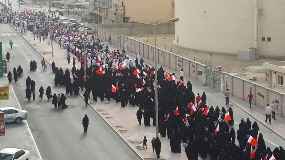 حشود جماهيريّة غفيرة تشيّع الشهيدة «فخرية مسلم»