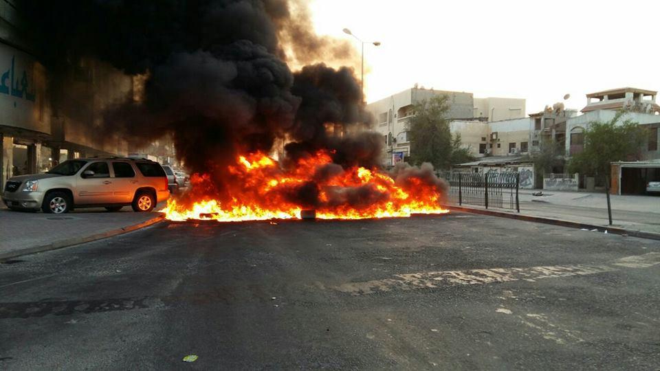 عمليّة «كلا أمريكا» تشلّ الشوارع في البحرين