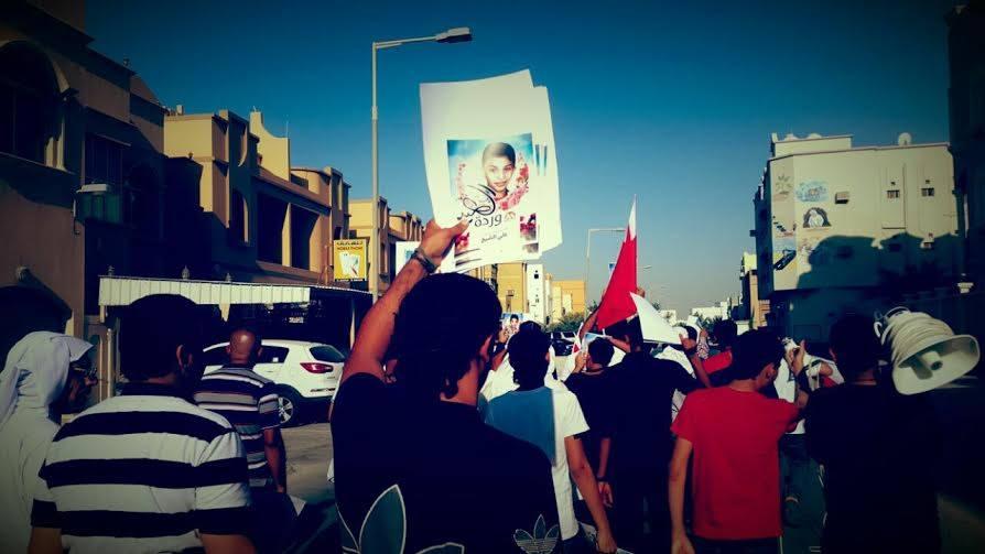 مسيرة «وردة العيد» تخليدًا لذكرى الشهيد «علي الشيخ»