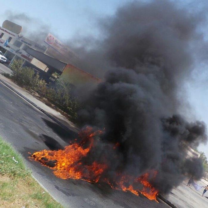 قطع «شارع البديّع» دعمًا لاعتصام «ميدان الفداء»
