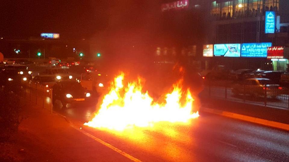الثوّار يقطعون عددًا من الشوارع رفضًا للاضطهاد الطائفيّ