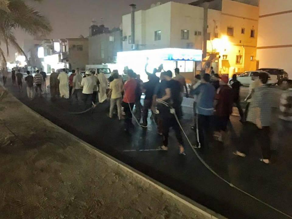 «عاصمة الثورة» تتظاهر انتصارًا لمقام آية الله قاسم