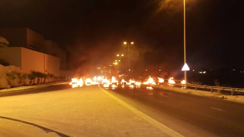 قطع عدد من «شوارع البحرين» انتصارًا للحرمات والكرامات