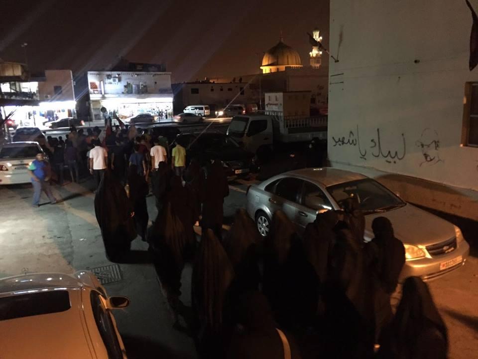 تظاهرات غاضبة رفضًا للمحاكمة الجائرة بحقّ آية الله قاسم