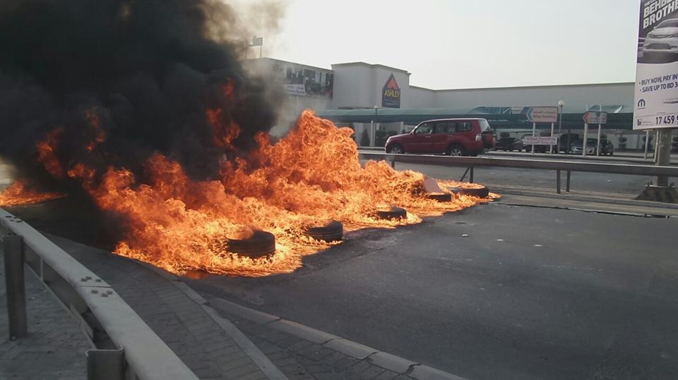 قطع عدد من شوارع البحرين في «جمعة الفداء – 3»