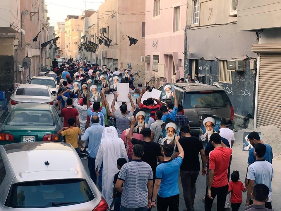 مسيرات «كلا أمريكا» تعمّ البحرين في «جمعة الفداء – 4»